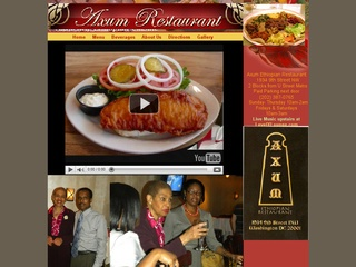 Axum Restaurant - Washington DC