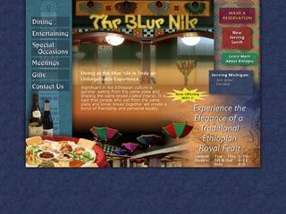 Blue Nile Ethiopian Restaurant - Ferndale, Michigan