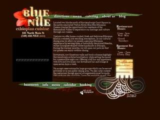 Blue Nile Ethiopian Restaurant - Harrisonburg VA