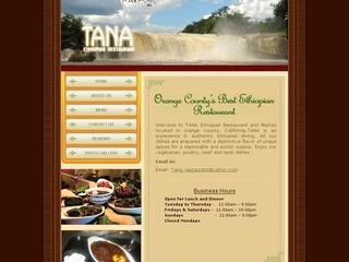 Tana Ethiopian Restaurant - Anaheim, California