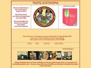 Taste of Ethiopia Restaurant - Michigan